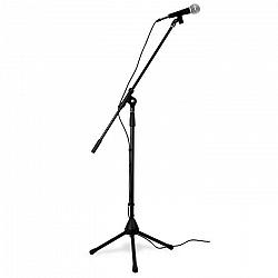 Skytronic Flexibilný mikrofónový set, trojnožkový statív, taška, XLR