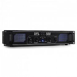 SPL500 DJ/PA zosilňovač Skytec, 500W, LED, ekvalizér