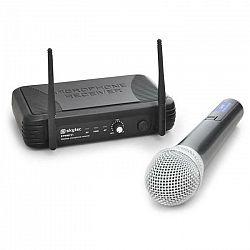 UHF rádio-mikrofónový set Skytec STWM721, 1 kanál,1 mikrofón