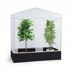 Waldbeck Plant Palace X2, fóliovník, 200 x 220 x 100 cm, oceľové rúrky, PVC mriežková fólia