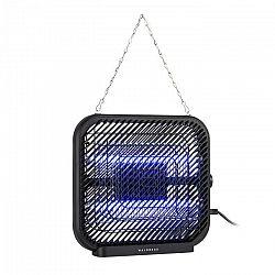 Waldbeck Skyfall SQ, lapač hmyzu, 16 W, 50 m², LED diódy, zberná nádoba, reťaz, čierny