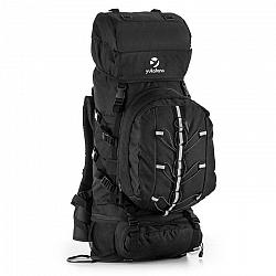 Yukatana Almer, čierny, trekingový ruksak, 80 l, 40 x 80 x 35 cm, malý batoh