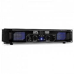 Zosilňovač Skytec SPL-1000, audio, LED, 2800 W, ekvalizér